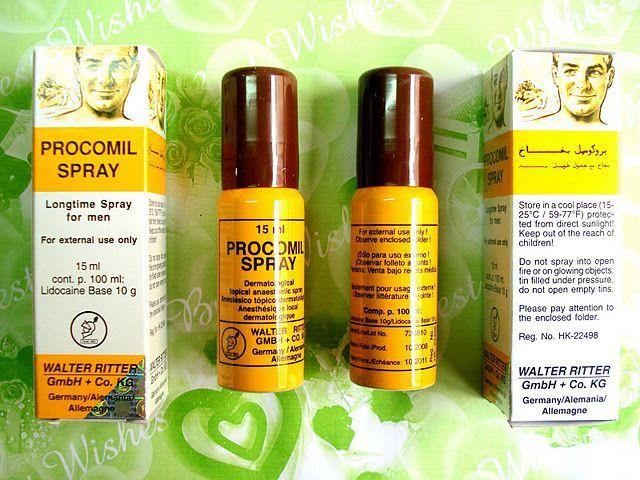 thuốc xịt kéo dài procomil spray quan hệ